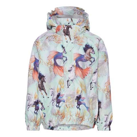 Molo Waiton  Swiming Horses куртка - ветровка для девочки