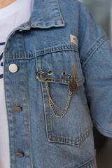 Джинсовая куртка с длинным рукавом интернет магазин