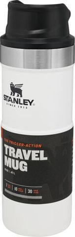 Термокружка Stanley Classic One hand 2.0 (0,47 литра), белая