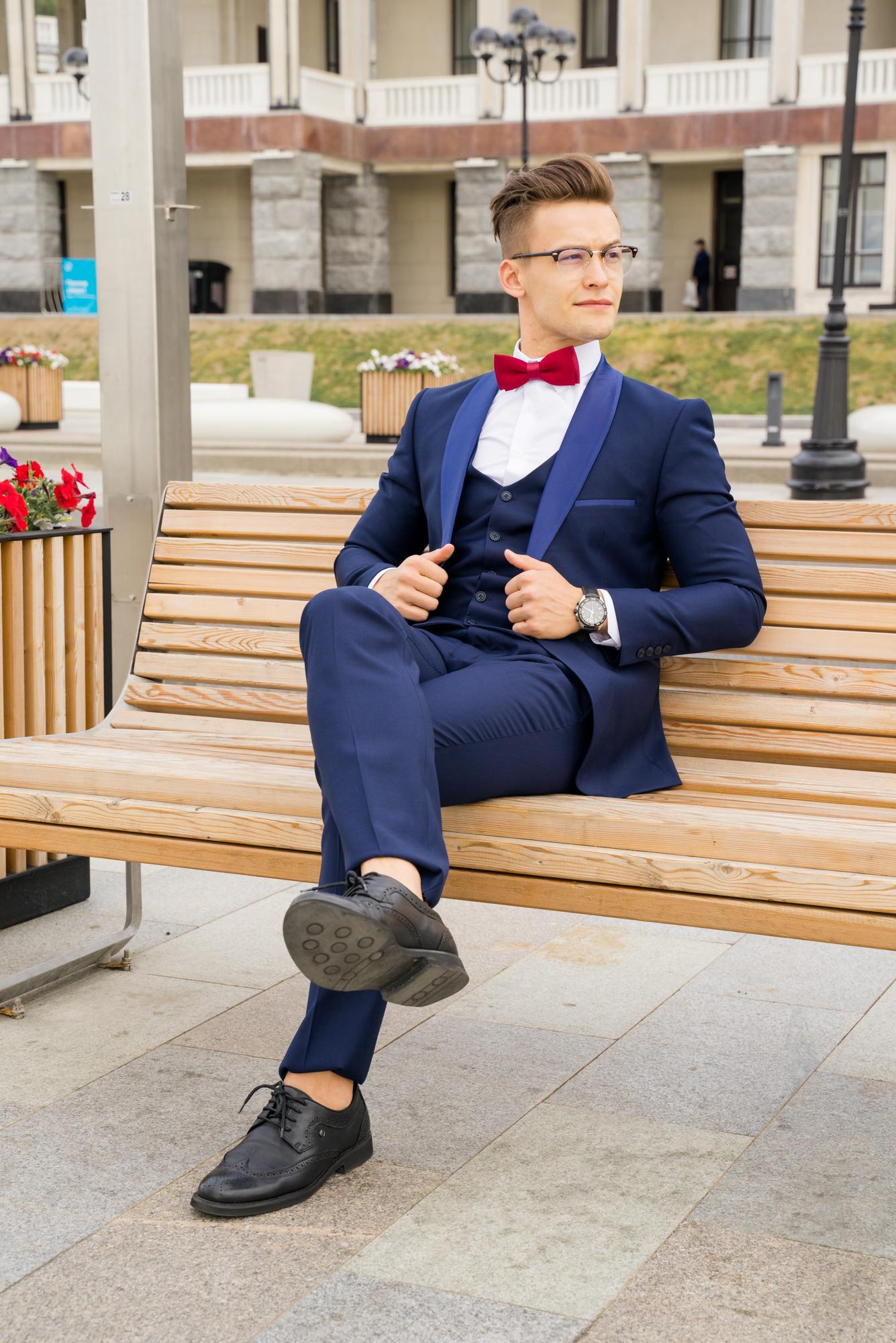 Мужские костюмы оптом Костюм мужской SACO DSC04579.JPG