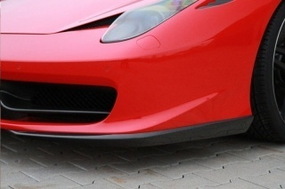 Карбоновый передний спойлер для Ferrari 458 Italia