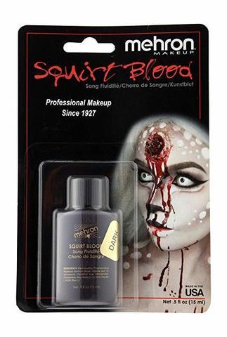MEHRON Кровь для брызг Squirt Blood- Dark Venous (темная венозная), 15 мл