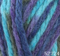 52724 (Бирюзово-фиолетовый меланж)