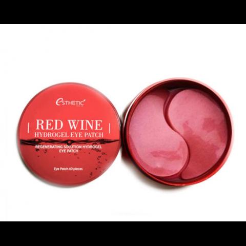 Esthetic House Гидрогелевые патчи для глаз с красным вином Red Wine Hydrogel Eye Patch, 60 шт