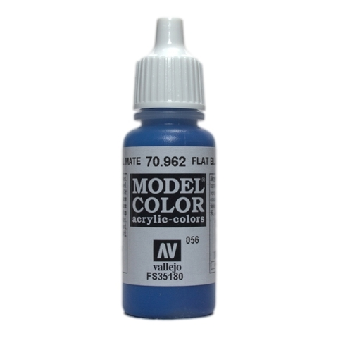 Model Color Flat Blue 17 ml.