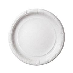 Тарелка из ламинированной бумаги д 230 мм, 50шт/уп
