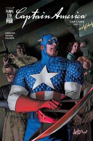 Marvel Knights. Captain America #19
