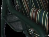 Садовые качели Элит Люкс зеленые