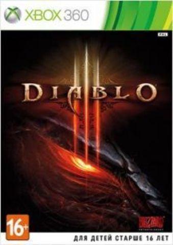 Diablo III (Xbox 360, английская версия)