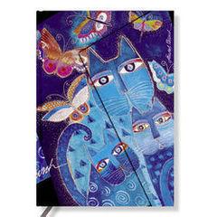 Blue Cats & Butterflies Wrap