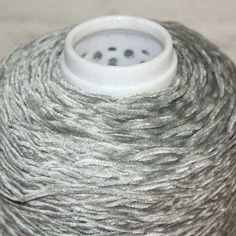 Хлопок велюровый TOSCANO 220 светло-серый