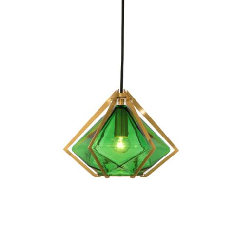 Подвесной светильник копия Harlow 2 by Gabriel Scott (зеленый)