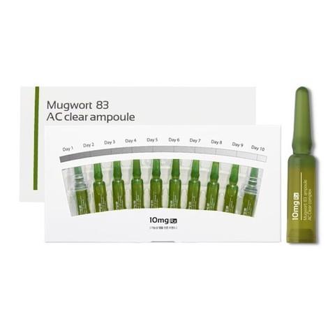MUGWORT 83 AC CLEAR Сыворотка для лечения АКНЕ 1 ампула 2 мл.