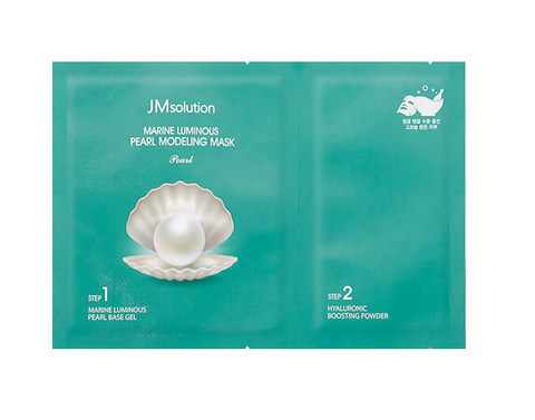 Альгинатная маска JM Solution Marine Luminous Pearl Modeling Mask 50g/5g