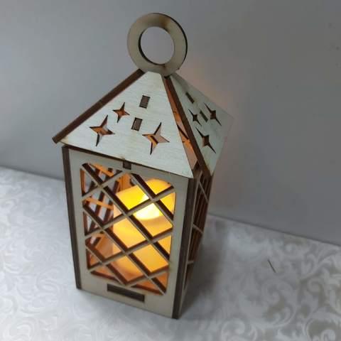 Подсвечник со светодиодной свечой