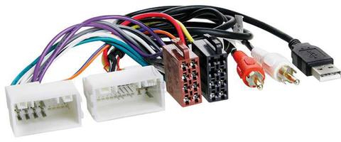 ISO- разъем Incar ISO HY-03A (AUX+USB) (Hyundai IX-35, Solaris, KIA Sportage 10+)