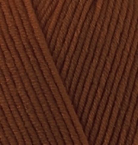 Пряжа Cotton gold Alize 690 Черепичный, фото