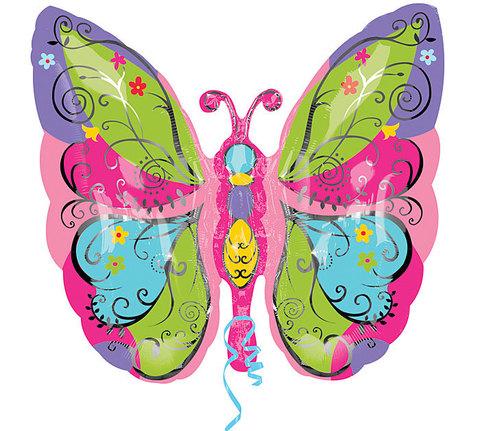 Шар бабочка садовая