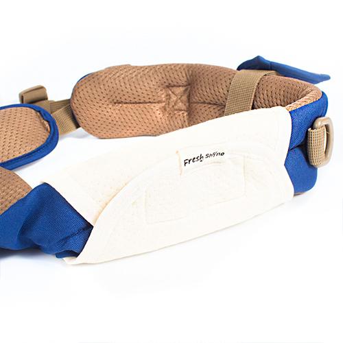 Эрго рюкзак + Хипсит Fresh Shine Premium Индиго