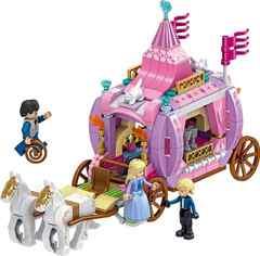 Конструктор Холодное Сердце Happy Princess 37049 Карета Золушки и Принца 351 дет.