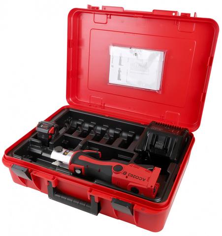 Пресс-инструмент аккумуляторный NOVOPRESS ACO203 BT с зарядным устройством
