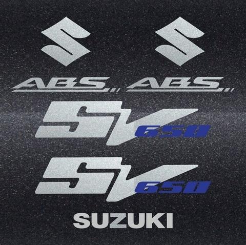 Набор виниловых наклеек на мотоцикл SUZUKI SV 650 2009