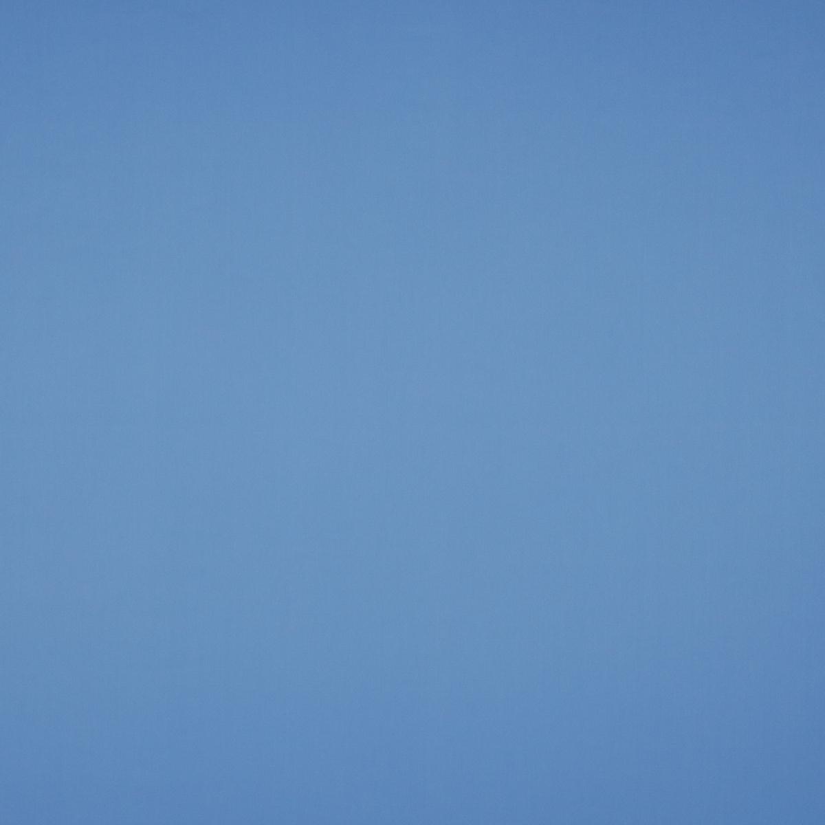Лёгкая хлопковая рогожка голубого цвета