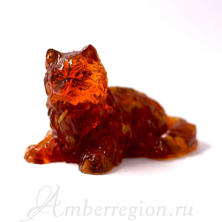 Пушистая кошка средняя