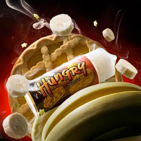 Жидкость Hungry 120 мл Banana Pie