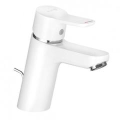 Смеситель для раковины однорычажный c донным клапаном Kludi Pure&Easy 373829165 фото