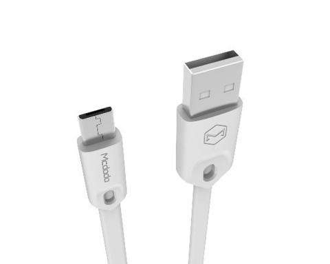 McDodo / Кабель CA-0430 microUSB - USB белый | 1м
