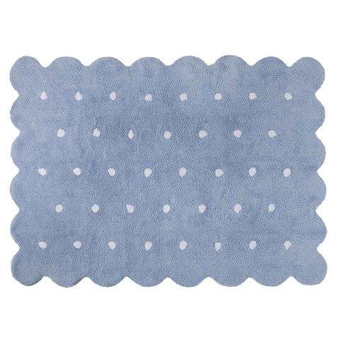 Ковер Печенье Biscuit (голубой) 120*160