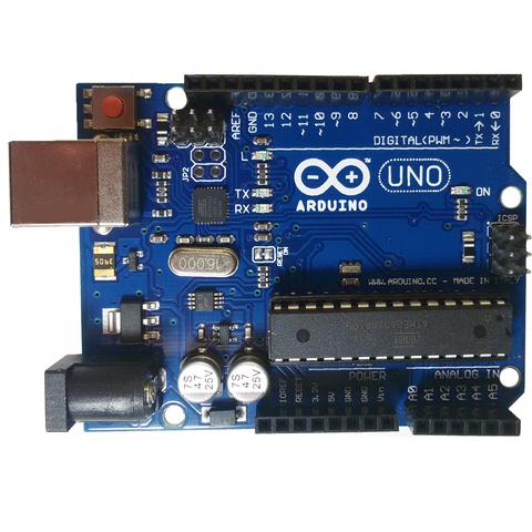 UNO R3 (Arduino совместимый контроллер) с USB-кабелем