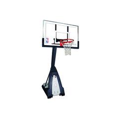 Стойка мобильная баскетбольная Spalding The Beast 60'' закаленное стекло
