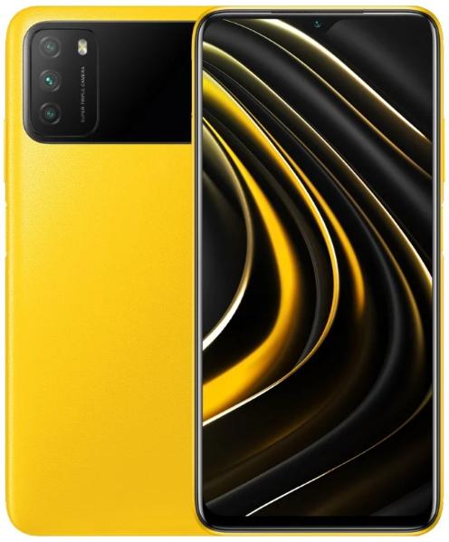 Poco M3 Xiaomi Poco M3 4/64GB Yellow (желтый) yellow1.png