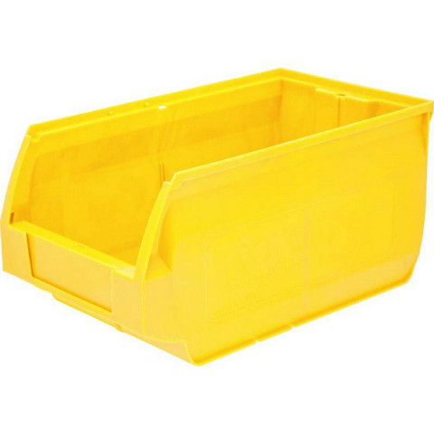Ящик Napoli 400х230х200 PP, желтый арт.5004