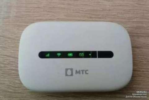 Huawei E5330 3G/Wi-Fi мобильный роутер (любая СИМ) белый