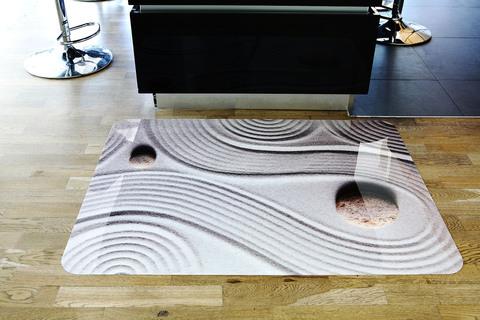 Защитный коврик для пола 900x1200 мм «дзен»
