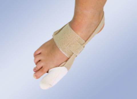 Бандаж на большой палец стопы при вальгусной деформации  (дневной) арт. HV-32