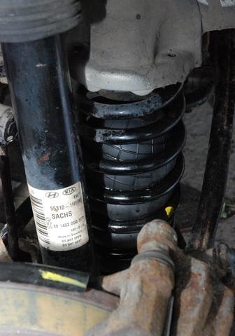 Пример установки пневмоподвески на ВАЗ 2101 Копейка