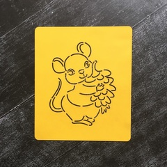 Мышка №5 с шишкой