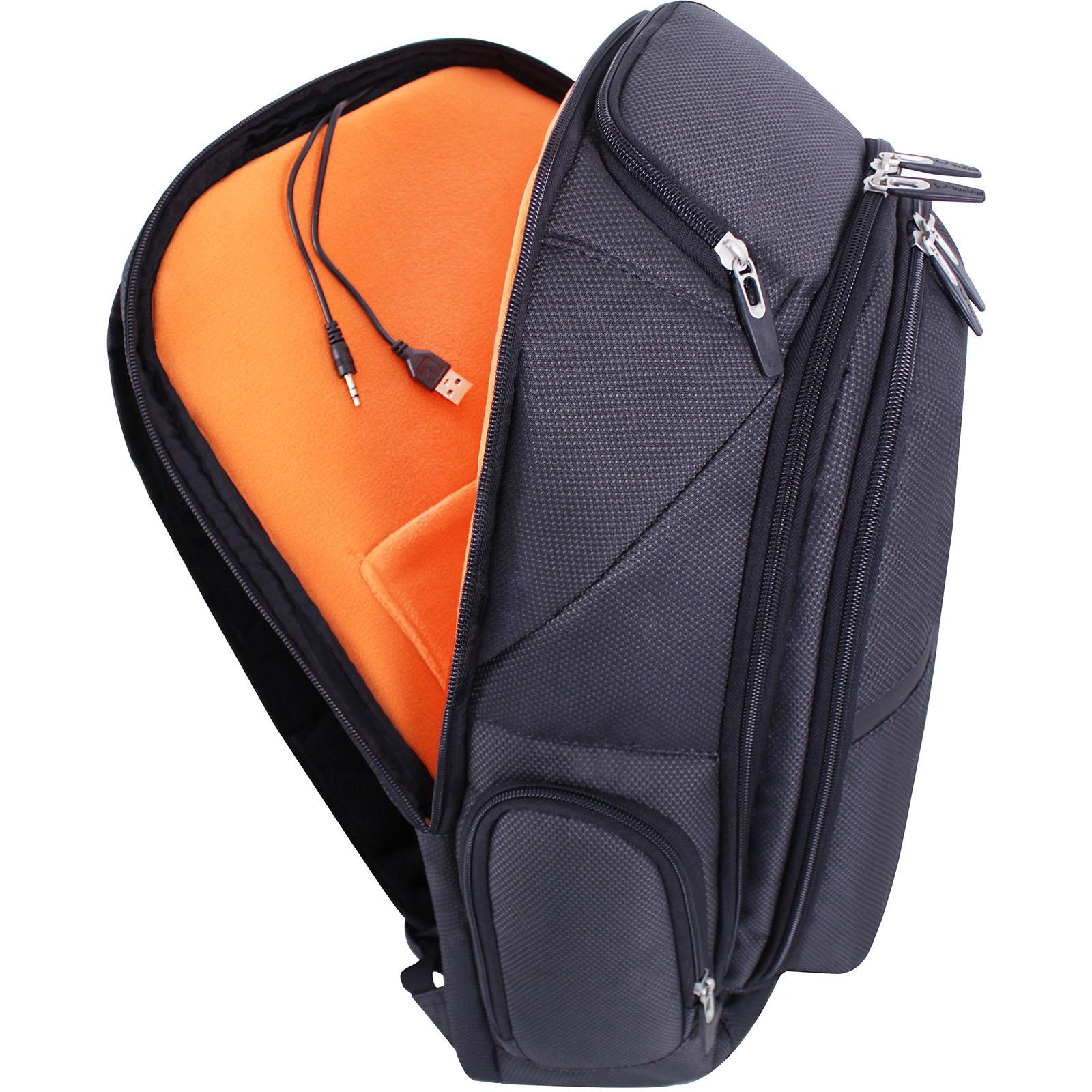 Рюкзак для ноутбука Bagland Tibo 23 л. Чёрный (0019066) фото 8