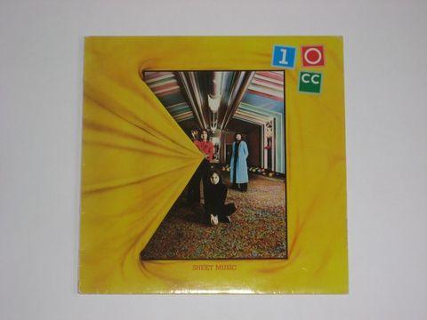 10cc / Sheet Music (LP)