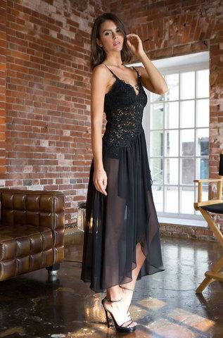 Сорочка женская  MIA-MIA Venera Венера 17305 черный