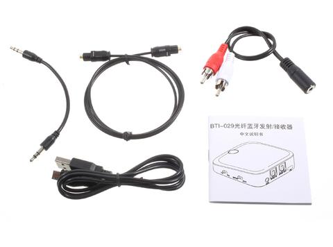 Передатчик И Приемник Bluetooth SK-BTI-029 Беспроволочный Тонально-звуковой Переходника С Оптически Выходом Toslink/SPDIF / 3.5 Mm Стерео