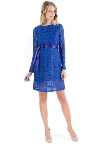 Платье для беременных 03729 васильковый