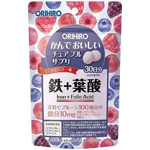 Orihiro Железо и фолиевая кислота