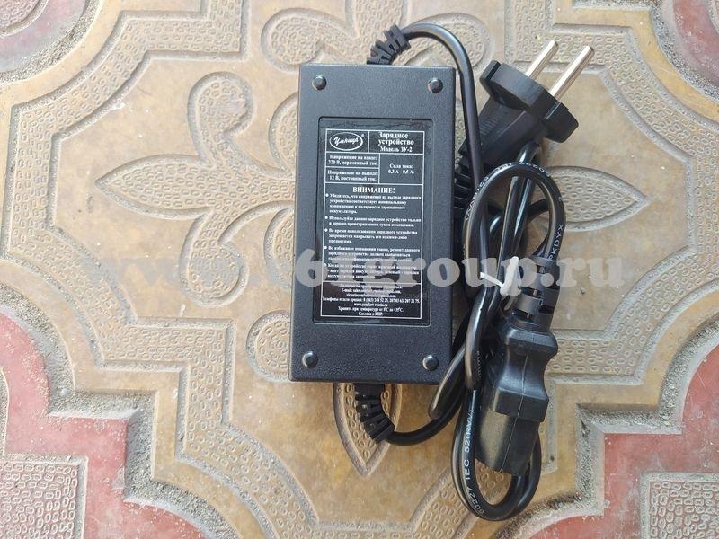1 Запасная часть для опрыскивателей электрических Умница моделей  ОЭ-10л-Н, ОЭ-12,5л-Н - зарядное устройство модель ЗУ-2