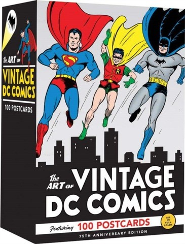 DC COMICS: The Art of Vintage DC Comics: 100 Postcards