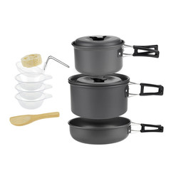 Набор туристической посуды Cooking Set SY-300